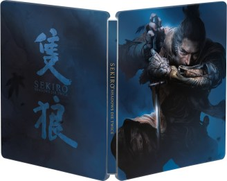 Resultado de imagem para sekiro shadows die twice steelbook