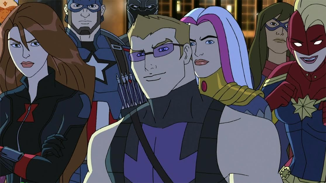 Image result for avengers assemble ultron revolution Civil War hawkeye and songbird