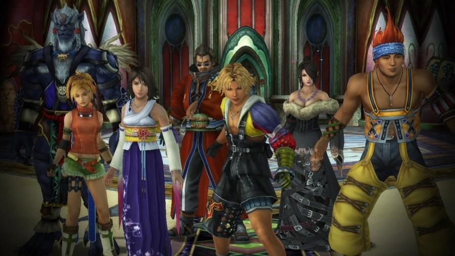 Image result for final fantasy x remaster