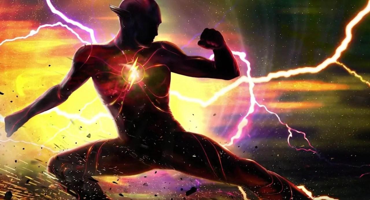 The Flash: la película estrena nuevo logo al inicio de la producción