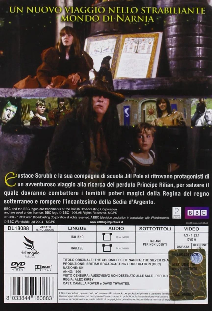 Le Cronache Di Narnia La Sedia Dargento