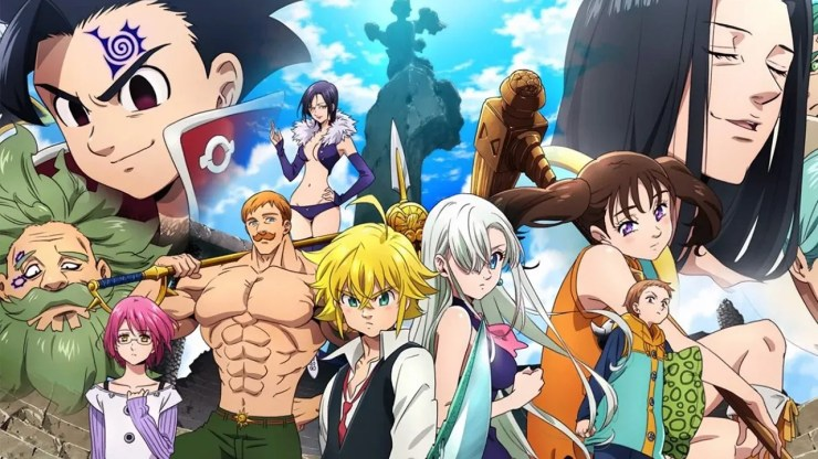 KOF The King of Fighters ALLSTAR colaboración The Seven Deadly Sins Nanatsu no Taizai