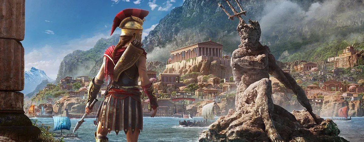 Logos are a part of everyday life. Assassin's Creed Odyssey - Análise
