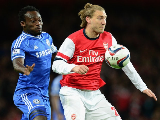Arsenals Nicklas Bendtner Recovers From Ankle Injury