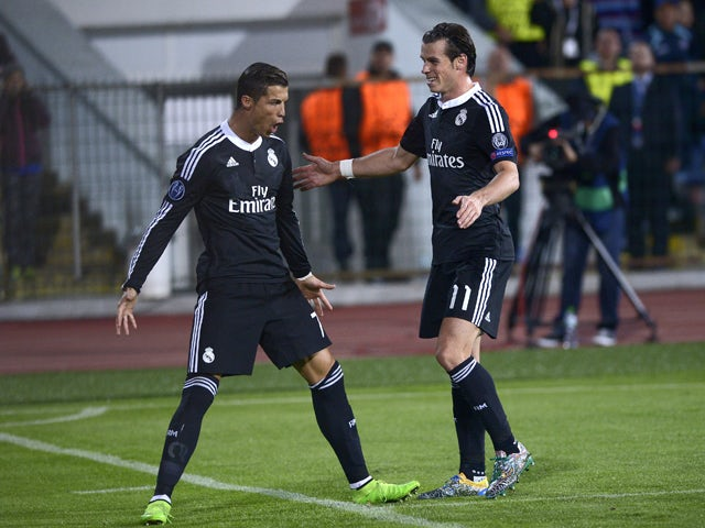 Half-Time Report: Real level as Ronaldo scores penalty ...