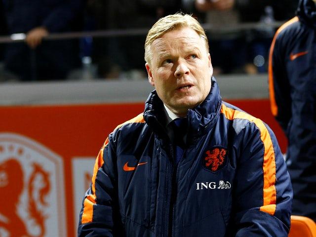 Koeman at Netherlands