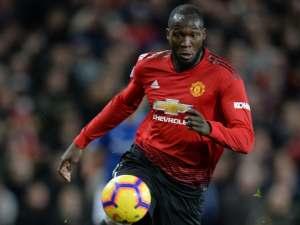 Romelu Lukaku in action for Manchester United on October 28, 2018