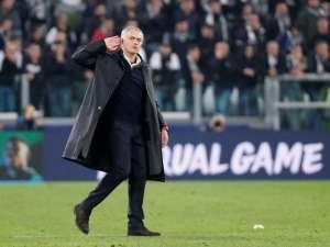 Manchester United manager Jose Mourinho taunts fans after his side's comeback win over Juventus on November 7, 2018