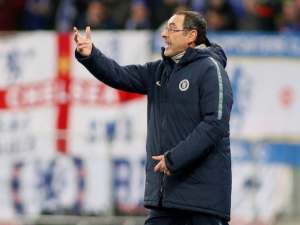 Chelsea manager Maurizio Sarri pictured on March 14, 2019