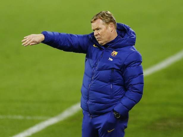 Ronald Koeman 'told he must win title or be sacked by Barcelona'