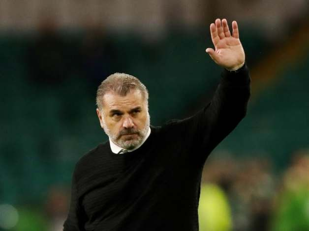 Celtic coach Ange Postecoglou pictured on August 12, 2021
