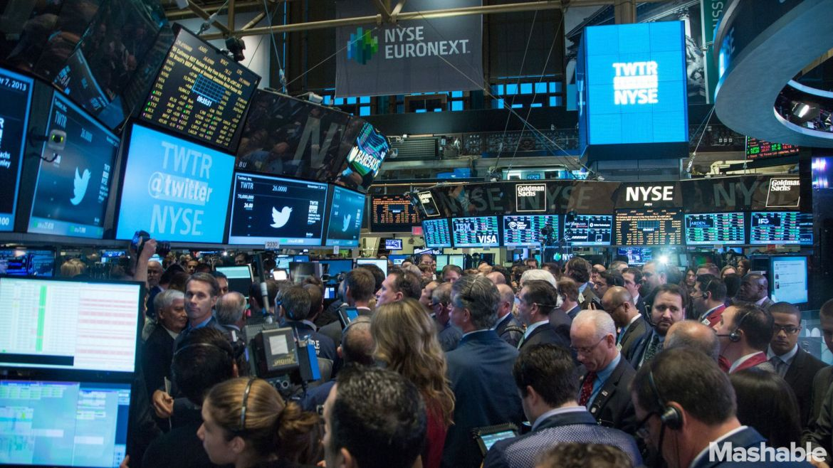 Twitter IPO Sparks 'NYSE Bubble Gum Guy' Meme