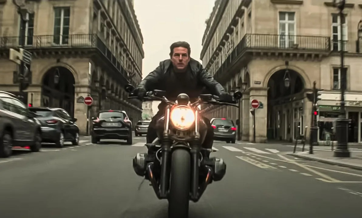 """Tom Cruise in """"Mission: Impossible"""""""