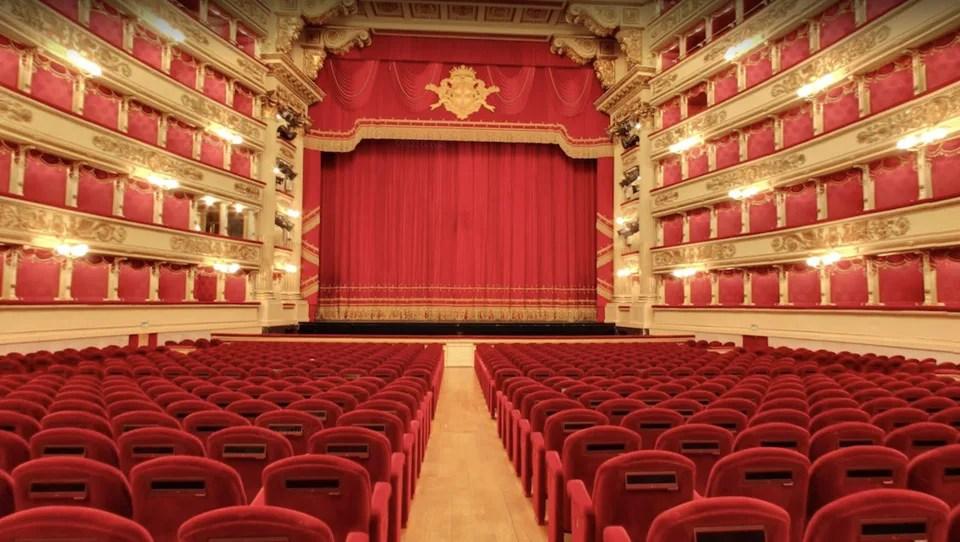 Dietro le quinte del Teatro La Scala con Google Arts