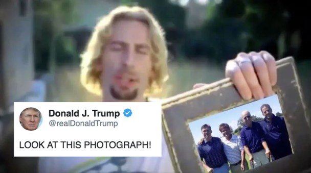 Image result for trump look at this photograph