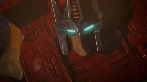Optimus Prime in Transformers War for Cybertron recensie op Netflix België