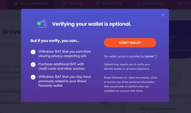 Verify Your Wallet (Optional)