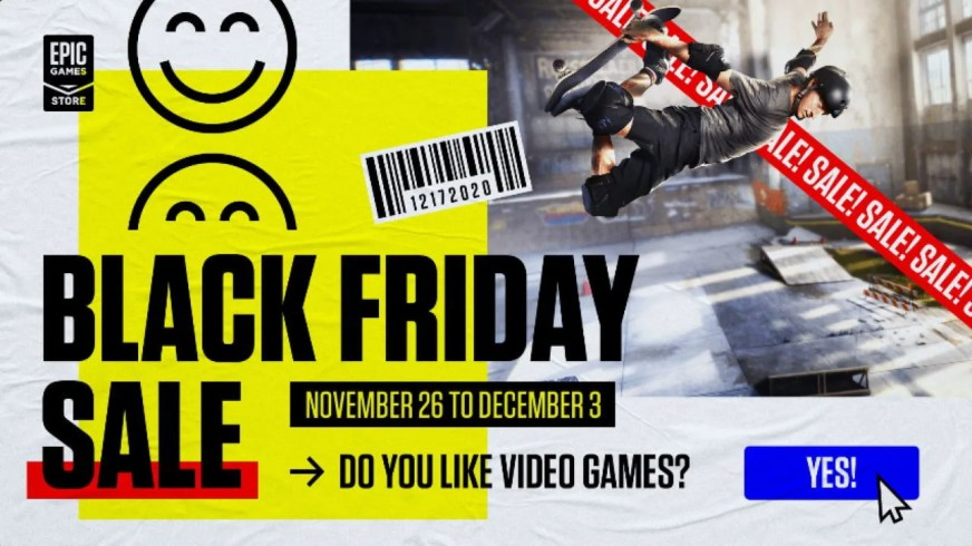 Epic Games Store Black Friday Sale: The 10 Best PC Game Deals