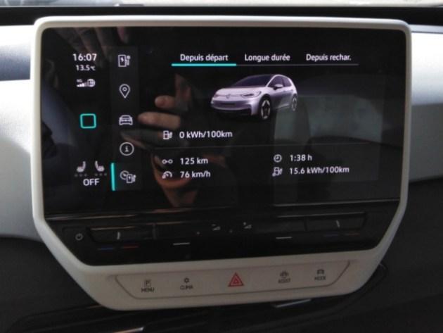 VW ID.3 bilan consommation retour concession