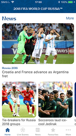 2018 FIFA World Cup Russia™ Official App 画像