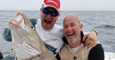 Store fisk fanget ved NJSK Havkonkurrence