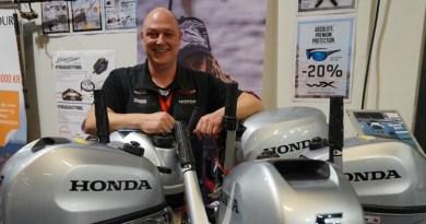 Honda-Shoppen – Stor succes på Boat Show
