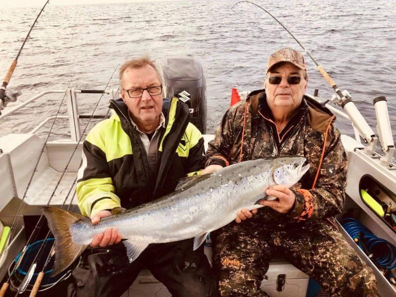 Bengt Hansson og Christer Lundell 11 kg