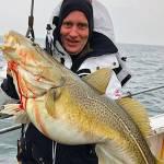 Langelandsbæltet leverer torsk op til 15 kg.