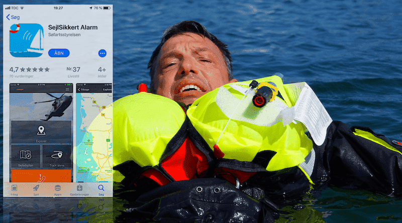Sejl Sikkert Alarm App – livlinen for bådejere