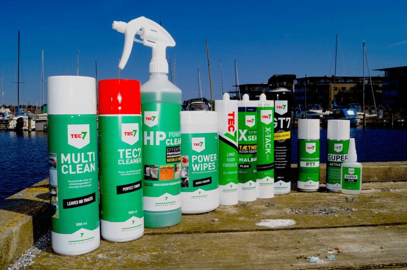 Let rengøring af båd