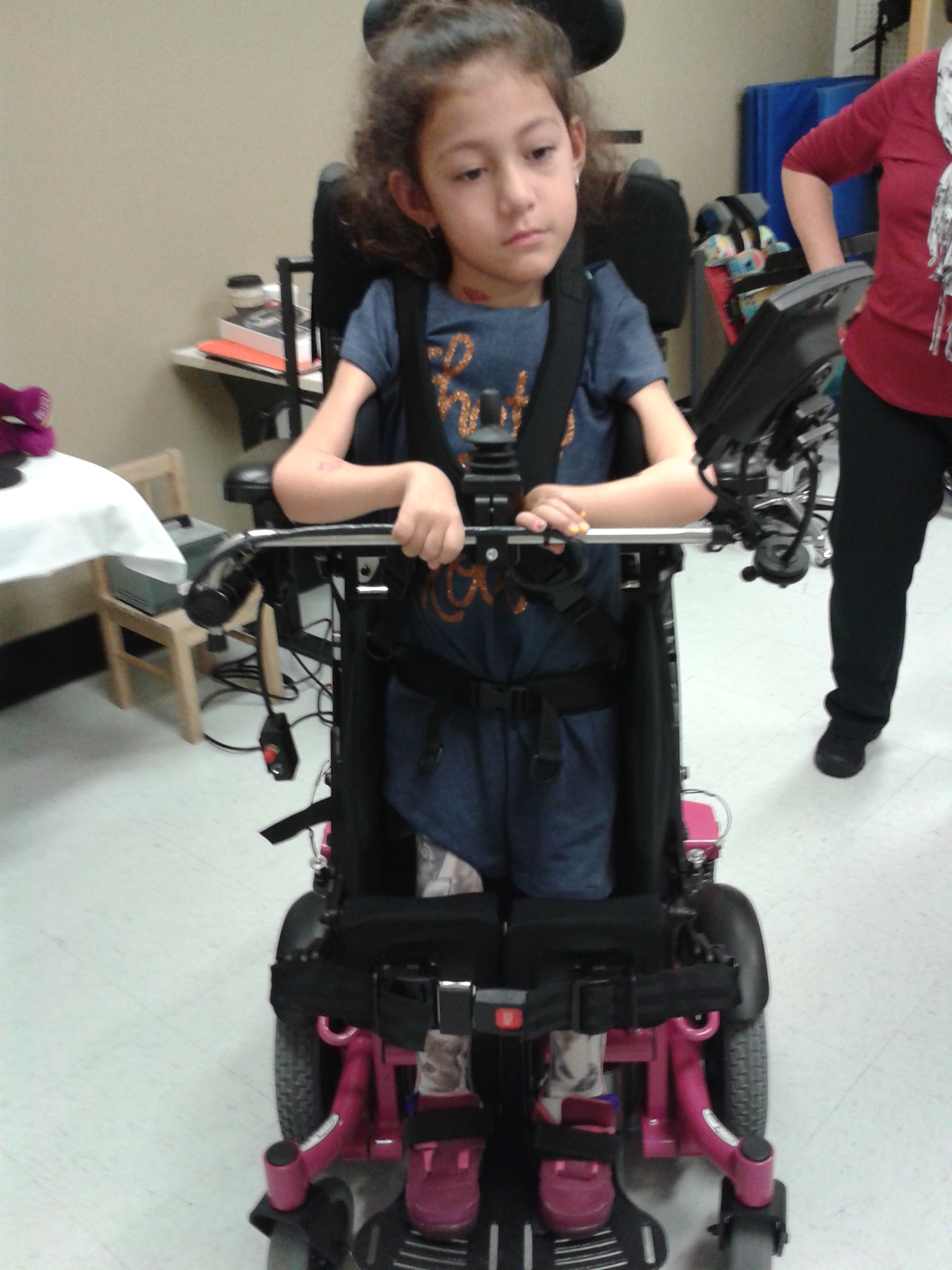 Memorable Day The Delivery Of The Sit To Stand Power Wheelchair SMA Arielles Journey