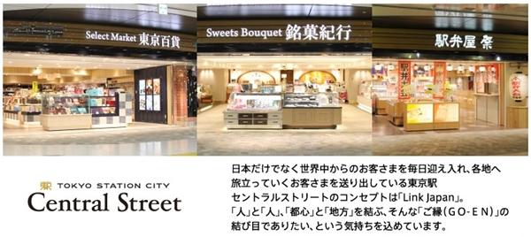東京駅 お土産 有名どころ 場所12