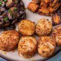 Air Fryer Cajun Scallops
