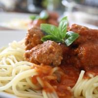 Włoskie klopsiki z sosem