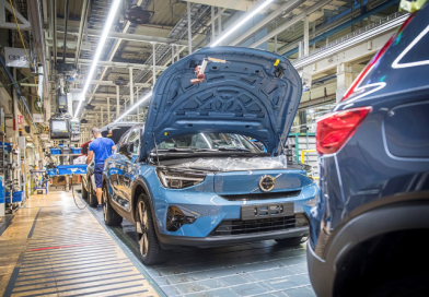 Volvo 汽車在比利時 Ghent 開始生產 C40 Recharge