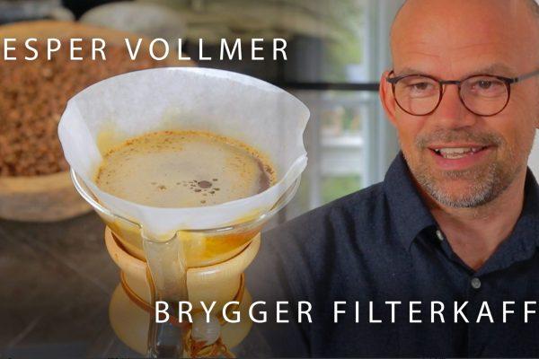 Jesper Vollmer Brygger Filterkaffe Med Smag Kaffen
