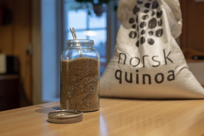 Quinoa - en naturlig del i det norske kjøkken