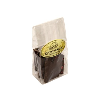 Mørke sjokoladeflak fra Kvarstad Gård