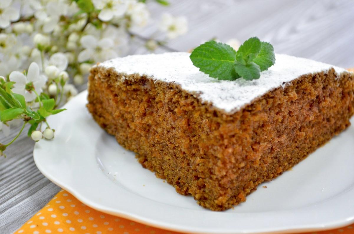 Ciasto marchewkowe + film