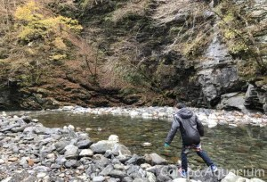 ウッドルーフ 川遊び