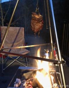 吊るし炙り肉 5時間後