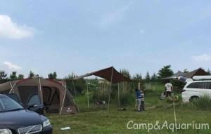 無印良品カンパーニャ嬬恋キャンプ場H13サイト