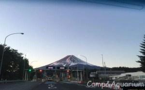 富士山と河口湖IC
