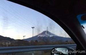 富士山車窓