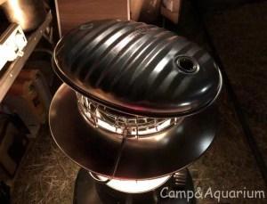 レインボーストーブと湯たんぽ