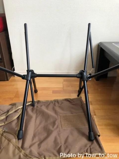 Helinox Tactical Sunset Chair コヨーテ ポール組み立て