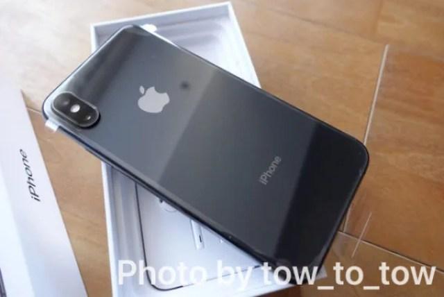 iPhone xs 開封