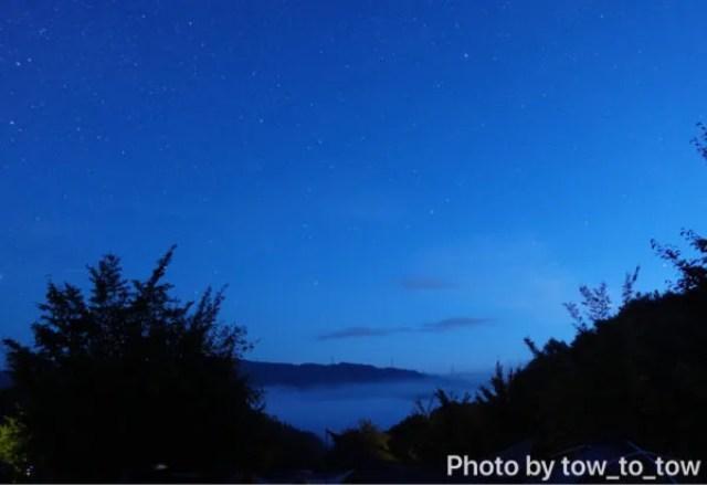 上毛高原キャンプグランド夜明け