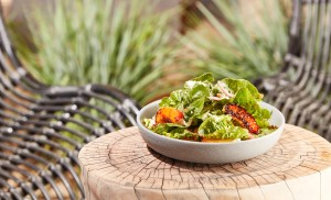 Homepage-Small Barn Modern Bistro- peach salad