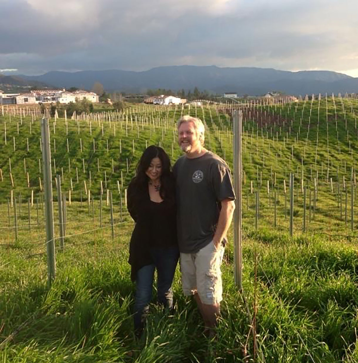 Small Barn Winery Owners Dan and Cathy